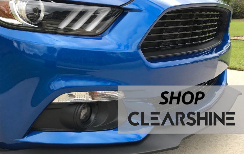 Blue Mustang Front Bumper